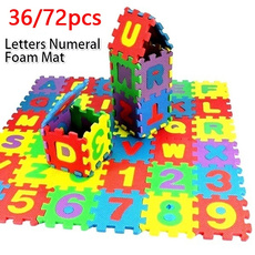 crawlingplaymat, Toy, alphabetazletter, Colorful