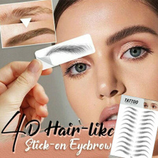 4dhairlikeeyebrowtattoosticker, 4dhairlikeauthenticeyebrow, Beauty, Waterproof