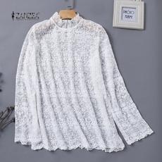 blouse, hollowingout, Fashion, Lace