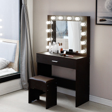 mirrorstable, Beauty, Home & Living, Stool