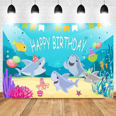 happybirthday, babyshowerparty, Shark, Shower