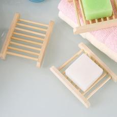 Wood, Bathroom, soapbox, soapholder