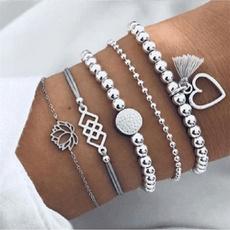 Fashion, Jewelry, boho, multi-layer bracelet