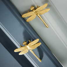 Brass, dragon fly, Kitchen & Dining, Handles