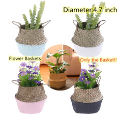 gardenflowerpot, laundrybasket, Flowers, Garden