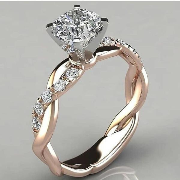 DIAMOND, Rose, gold, Bride