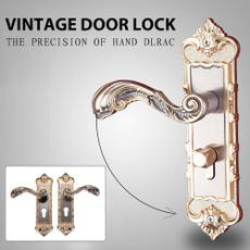 Vintage, Door, Lock, antitheft
