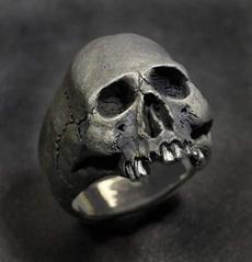 Steel, Goth, Jewelry, skull