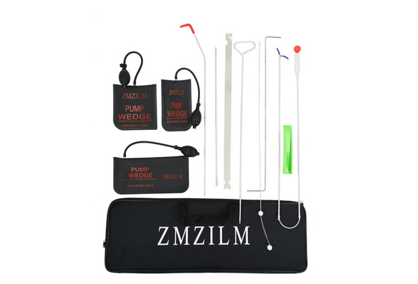 ZMZILM Full Professional Car Kit Air Wedge Pump Professional Leveling Kit /& Alignment Tool Inflatable Shim Bag Auto Emergency Toolset