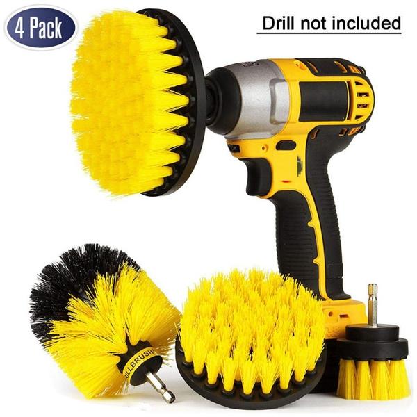 drillbrushattachment, drillbrushcleaning, carcleaningbrush, cleaningbrush