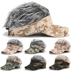 Baseball Hat, wig, Fashion, Golf