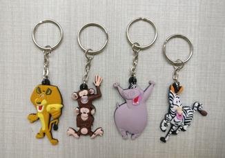 rubberkeychain, keychainskeyring, Key Chain, monkey