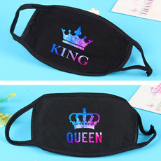 King, Cotton, mouthmask, printedmask