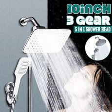 rotatingshower, squareshowerhead, Head, Bathroom Accessories