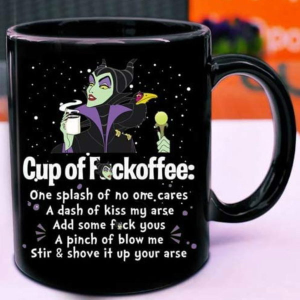 tea cup, Coffee, Gifts, maleficentmug