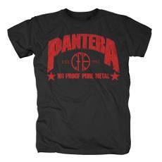 pantera101proofpuremetalblackunisexshirt, Funny T Shirt, Cotton Shirt, Cotton T Shirt