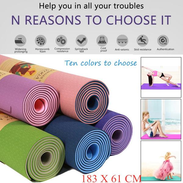 non-slip, Yoga Mat, classicpro, Yoga