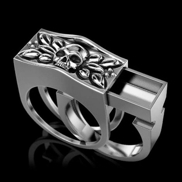 Sterling, ringsformen, hip hop jewelry, anilloshombre