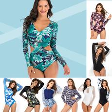 Fashion, Lace, womensrashguardswimsuit, cutout one piece swimsuit