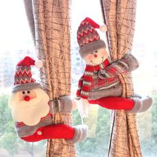 snowman, cute, Christmas, curtainchain