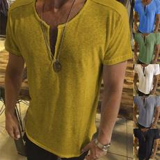 vnecktshirt, Tees & T-Shirts, Man t-shirts, short sleeves