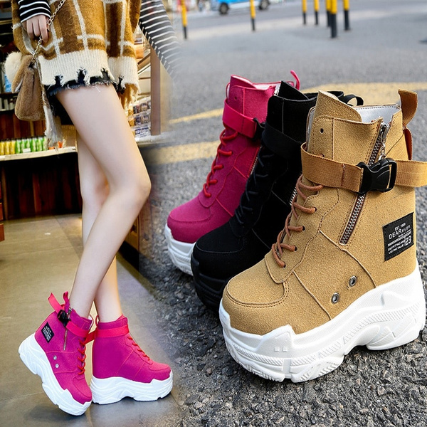 Women Sneakers 2019 Spring Autumn High