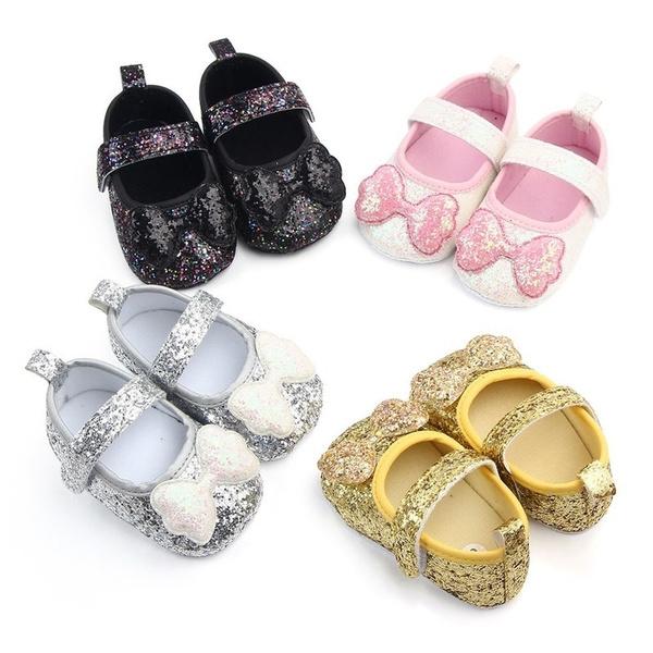 non-slip, bowknotshoe, Princess, infanttoddlershoe
