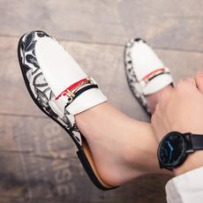 Slippers, flatsshoesformen, Outdoor, lazyshoe