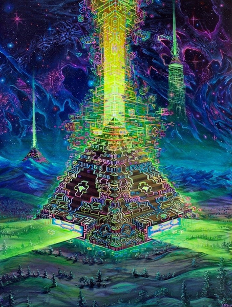 Wall Art, Posters, trippyposter, psychedelicposter