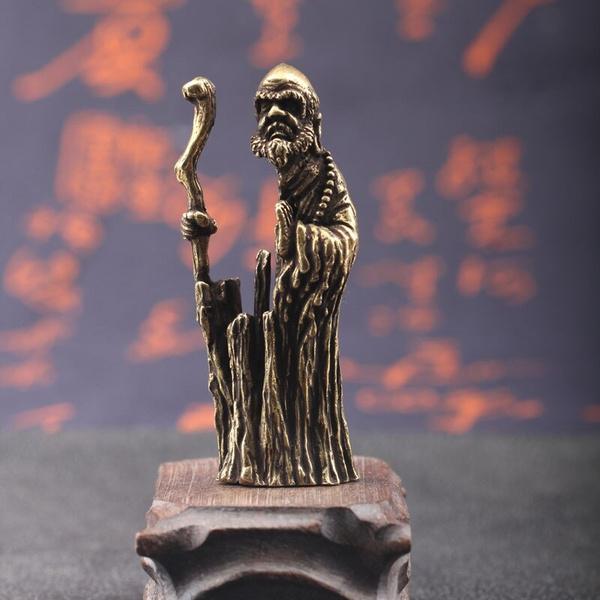 Antique, living, figure, miniature