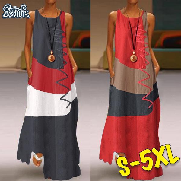 dressforwomen, Plus Size, Summer, long dress