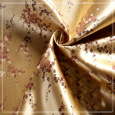 golden, Polyester, Fabric, Patchwork