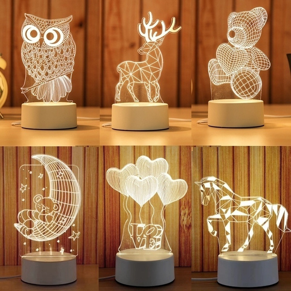 Owl, Night Light, Home Decor, usblight