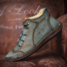 ankle boots, Outdoor, leather shoes, workshoe