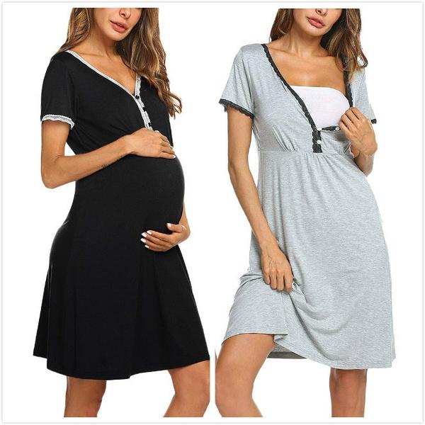 dressforwomen, Shorts, pregnantdres, Sleeve