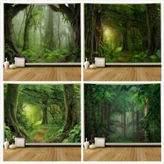 Decor, foresttapestry, Wall Art, Wall Stickers & Murals