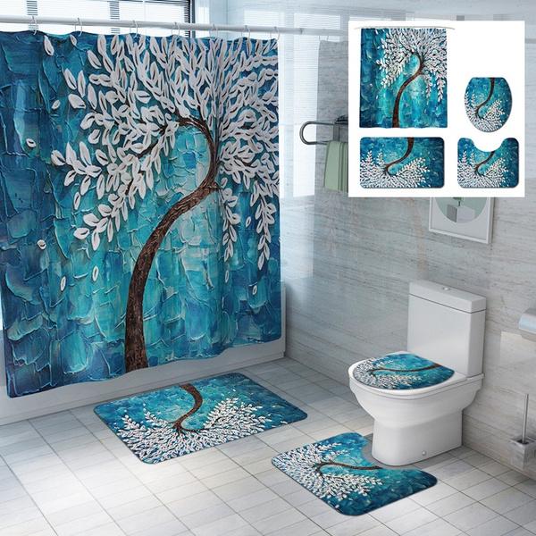 doormat, Bathroom, painting, bathroomdecor