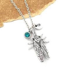 cicadacharm, Chain Necklace, Jewelry, Gifts