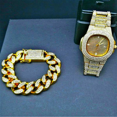 hip hop jewelry, hiphopbracelet, Watch, partybracelet