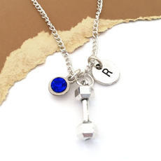 Personalized Jewelry, barbelljewelry, Gifts, weightliftinggift