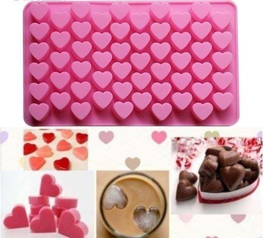 55heartsiliconemold, Baking, bakingtoolsaccessorie, Mini