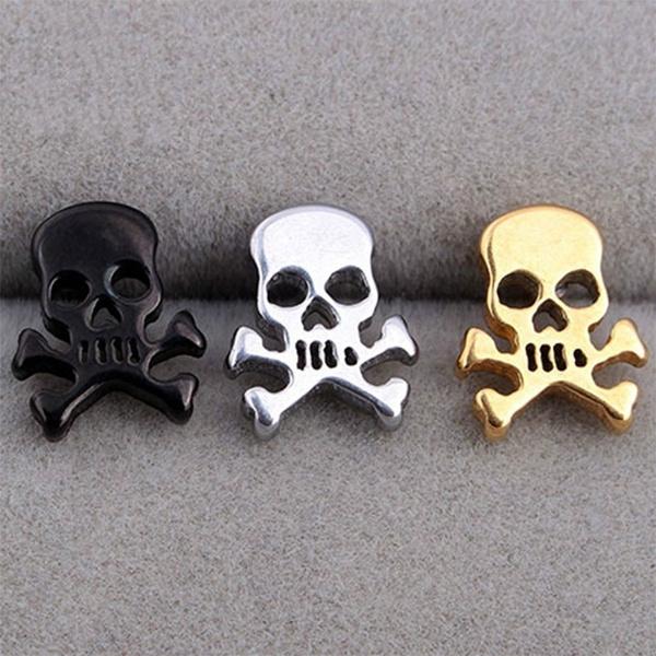 piercedearring, Steel, Head, Stainless Steel