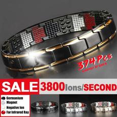 magnetbracelet, Titanium Steel Bracelet, therapybracelet, Jewelry