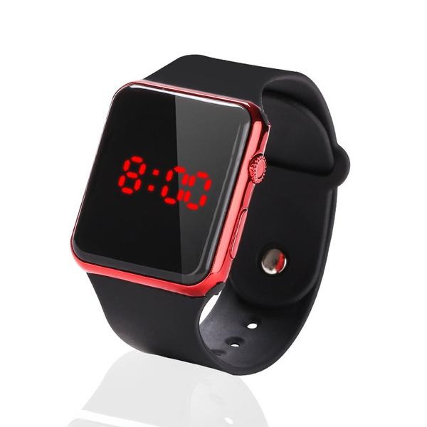 LED Watch, led, Clock, Silicone