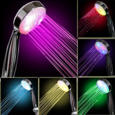Shower, Head, led, sprinkler