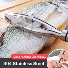 Steel, Home & Kitchen, Scales, fishscalecleaner