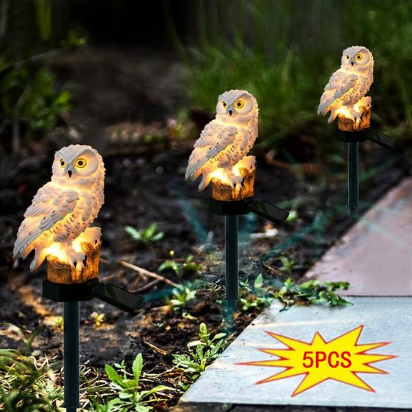 Owl, Outdoor, led, Garden