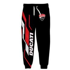 Hombre, 3dpant, yoga pants, Ducati