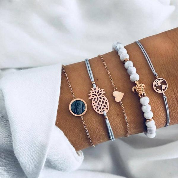 Charm Bracelet, Beaded Bracelets, Beaded, Love