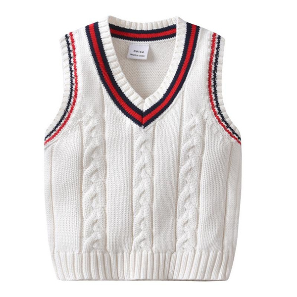 Kids Clothes Knitted Sweater Children Sleeveless Sweaters Boys Girls Cotton  Vests Clothes | Wish